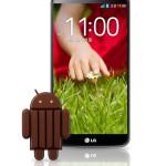 LG G2 Android 4.4 KitKat update