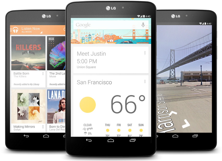 LG G Pad 8.3 Google Play edition is official; pure Android tablet for ...
