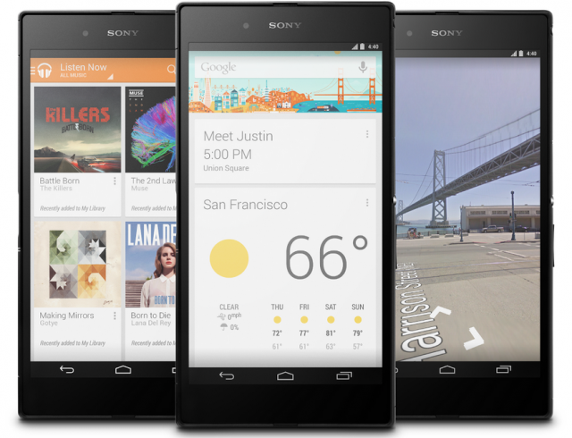 sony xperia ultra z google play edition