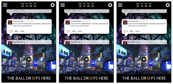 time square ball app