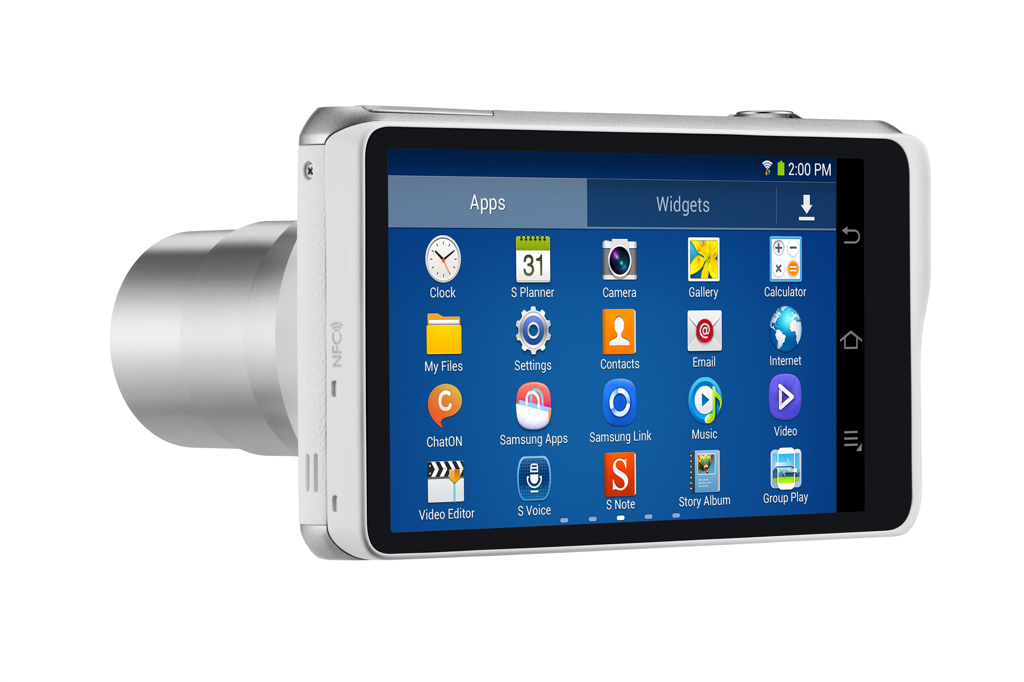 Samsung Galaxy Camera 2 ups the Android camera ante