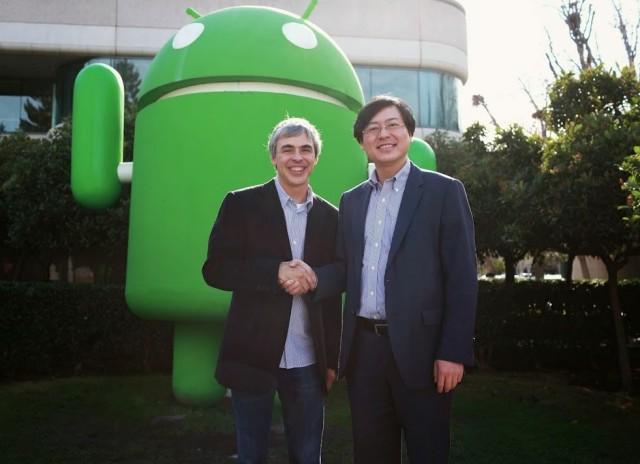 Google Lenovo shake