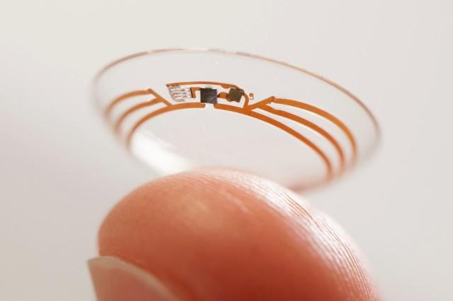 Google Smart Contact Lens Project