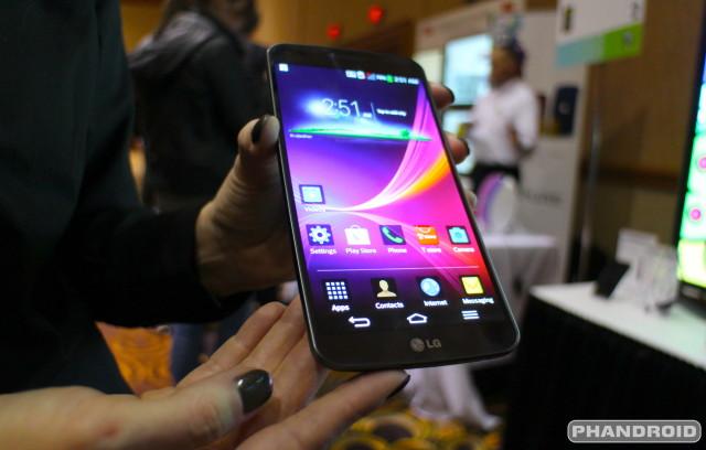 LG G Flex CES 2014 IMG_0064