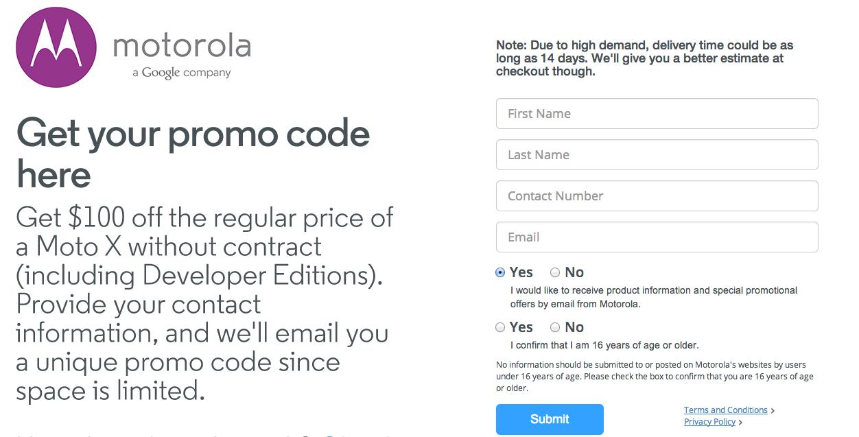Code promo surplus moto