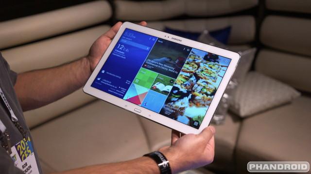 Samsung Galaxy Tab Note Pro DSC05101