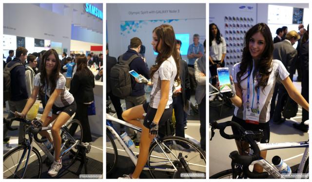 Samsung Trek Bike CES 2014
