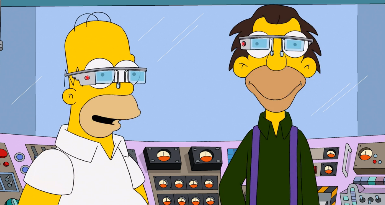 Watch Now Oogle Goggles Are The Simpsons Take On Google