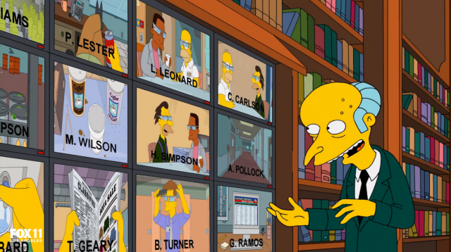 Simpsons Specs and the City