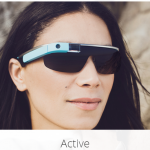 google glass titanium active