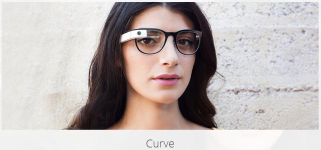 google glass titanium curve