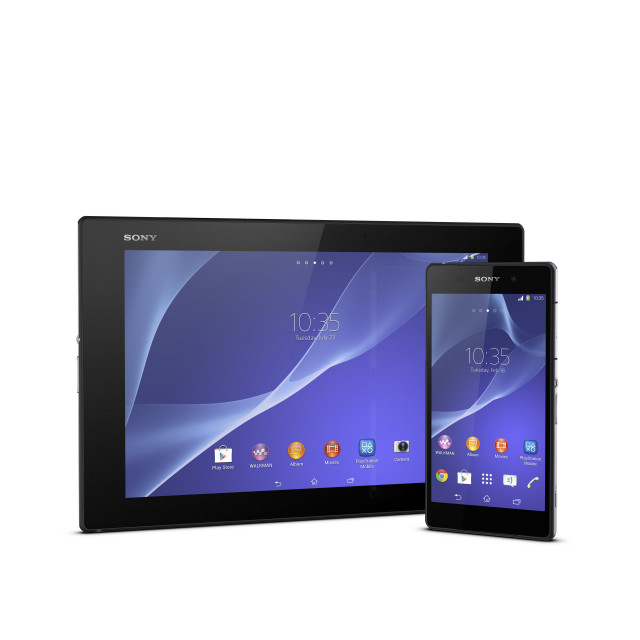 sony announces xperia z2 and xperia z2 tablet. Black Bedroom Furniture Sets. Home Design Ideas