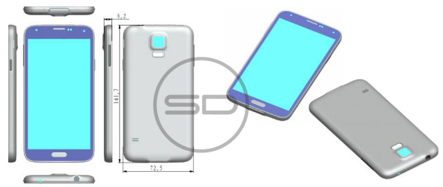 Galaxy S5 schematics