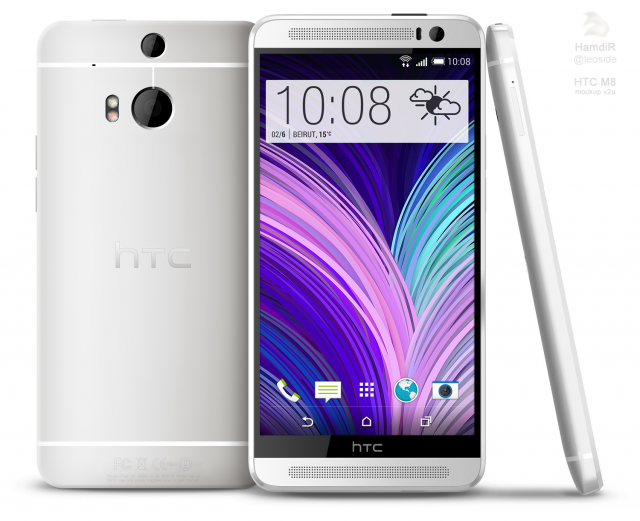 HTC M8 render based on leaks