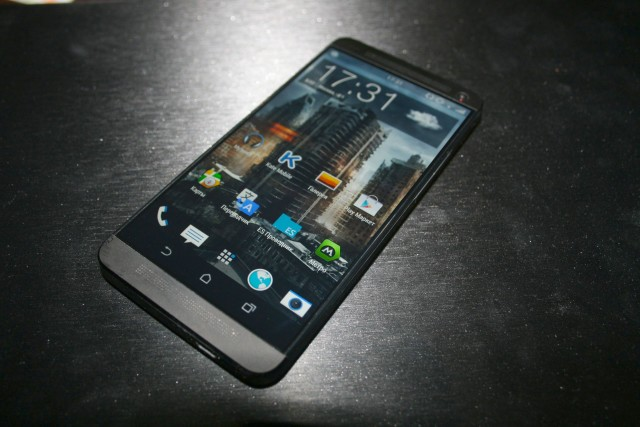 HTC One Plus M8 front 2