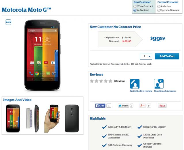 Moto G US Cellular