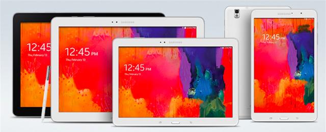 Samsung Galaxy Tab Pro Series