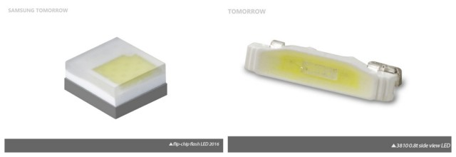 Samsung LED flash chip