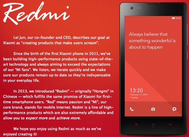 Xiaomi Redmi Phones