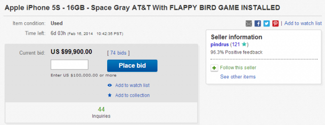 flappy birds ebay