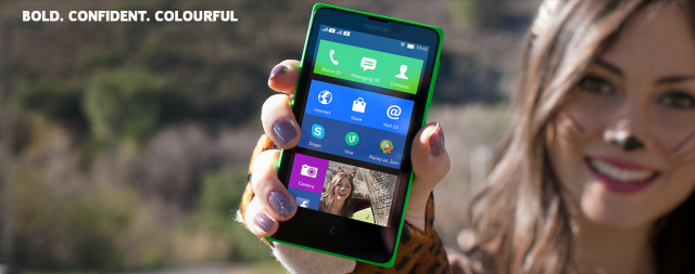 nokia x home-screen