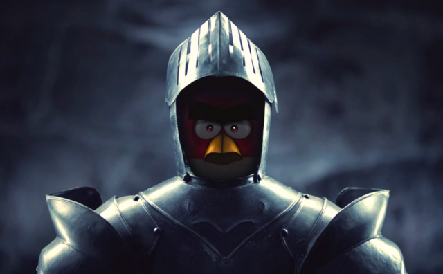 Angry Birds medieval teaser