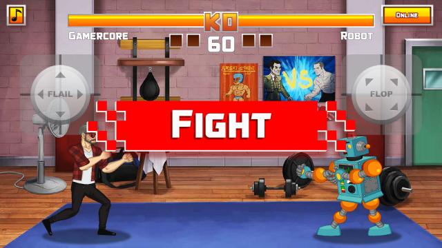 fighting game maker 2d