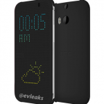 HTC M8 One flip cover leak