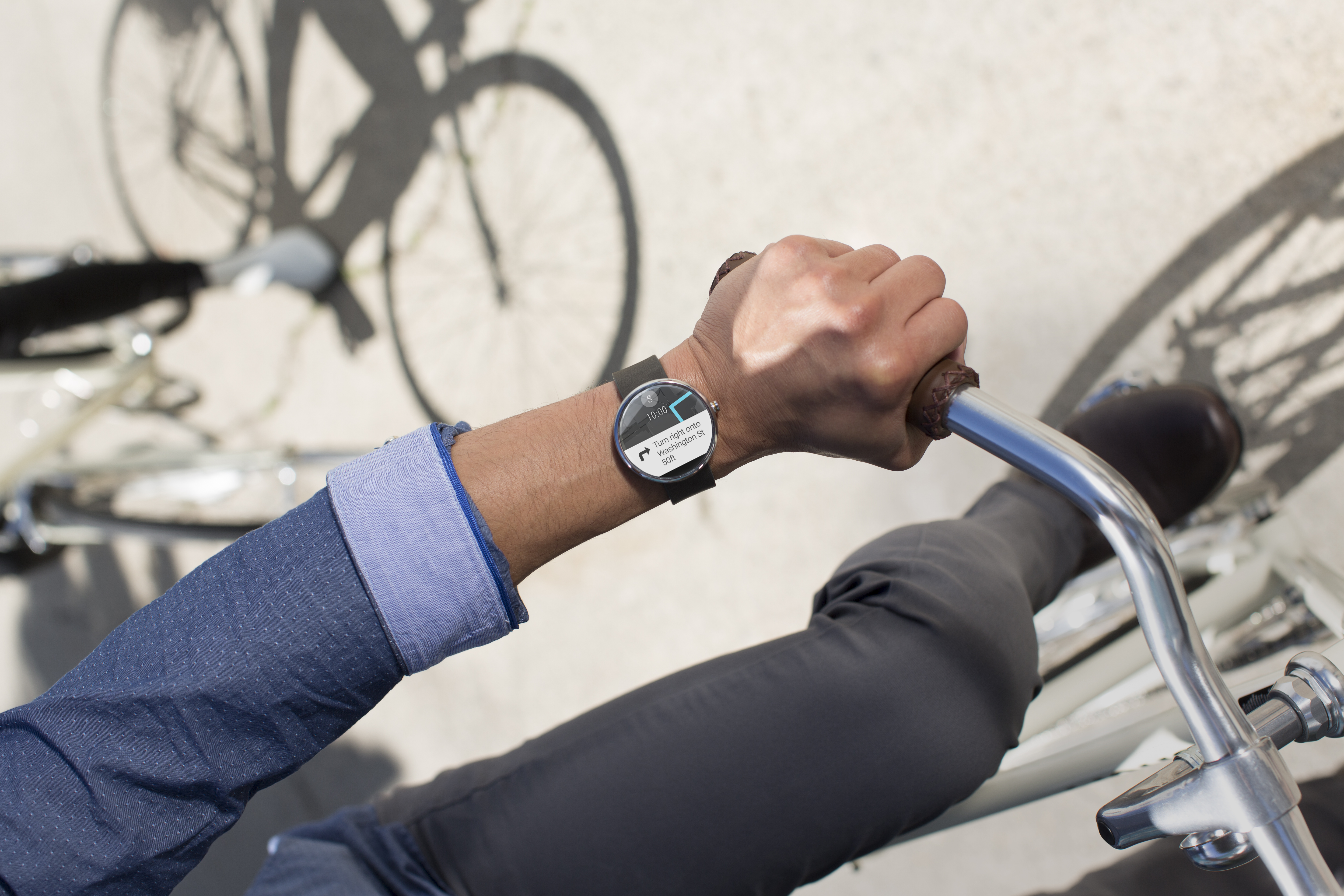 Moto 360 Android Wear smart watch officially announced