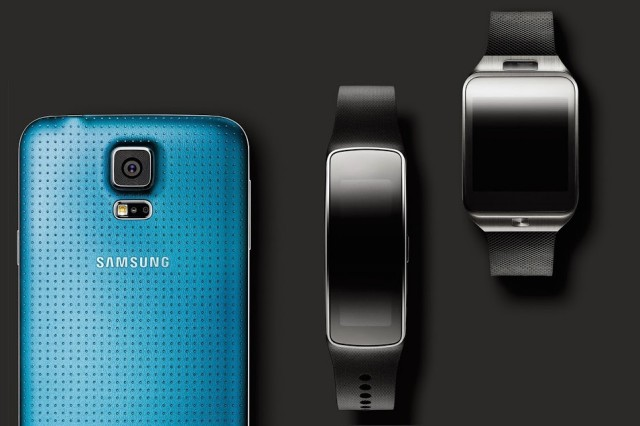 Samsung Galaxy S5 Gear 2 Fit