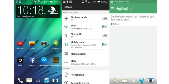 Sense 6.0 HTC One