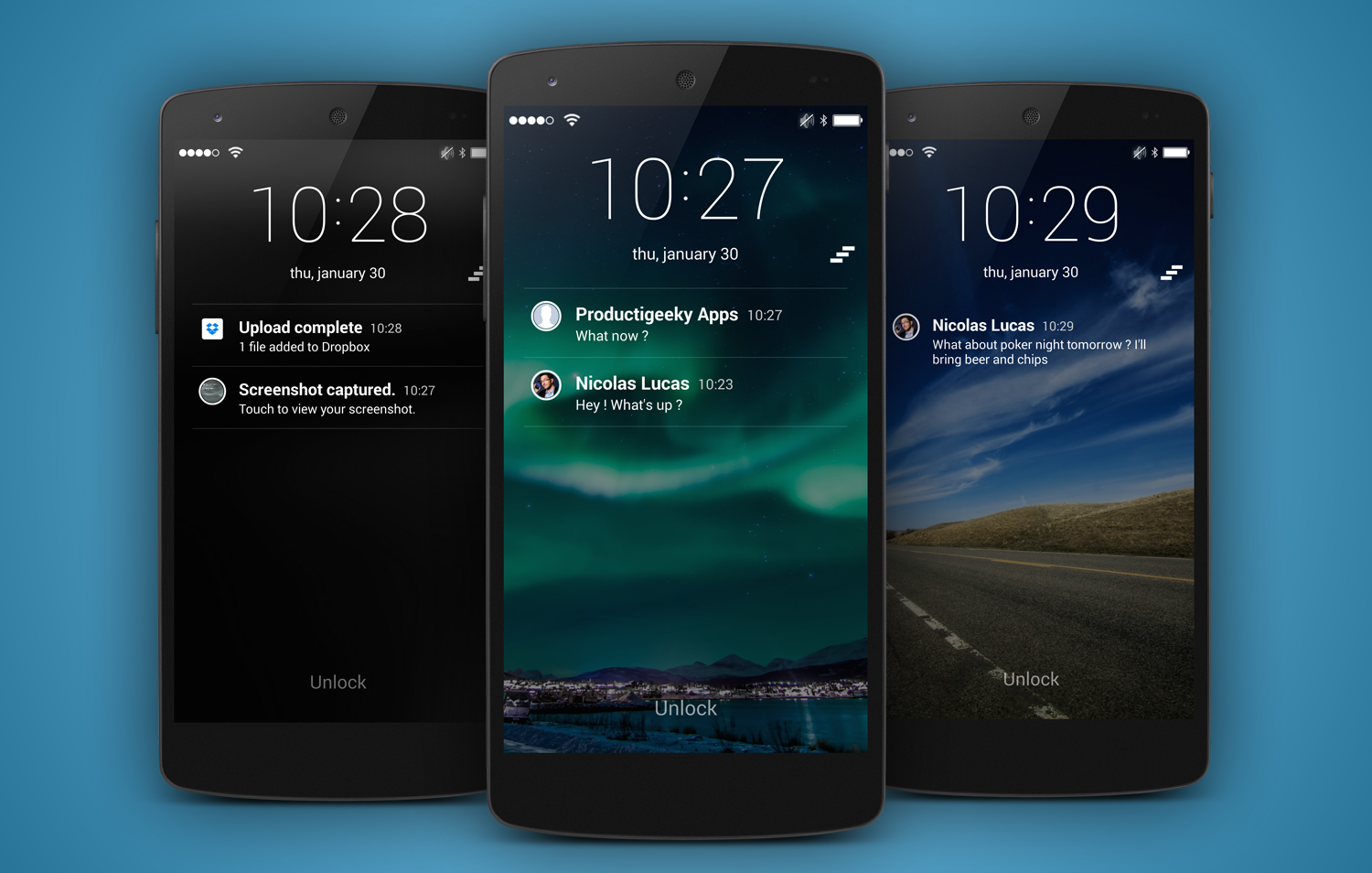 Phone How To Lock Android Phone Screen how to get ios lockscreen notifications on your android device slidelock