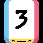 Threes icon