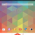 Xperia Triflat Theme tablet