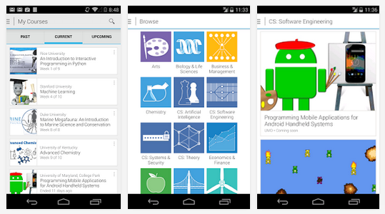 coursera app for android