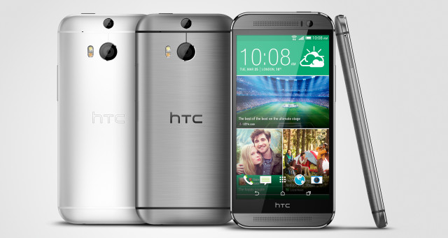 htc one m8 gunmetal silver