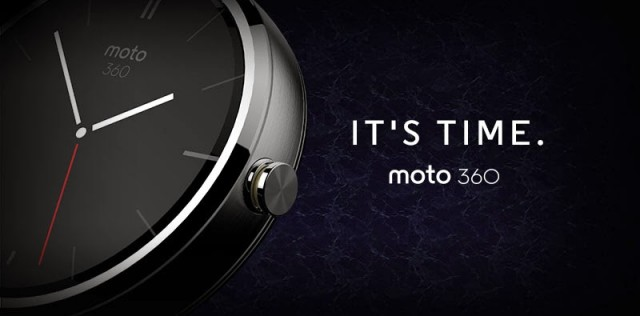 Moto 360 motorola smart watch