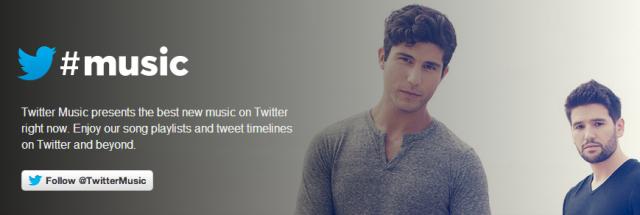 twitter music baner