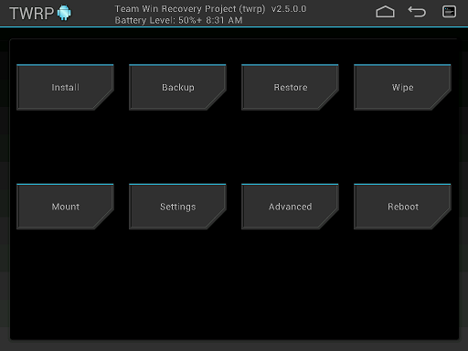 twrp tablet