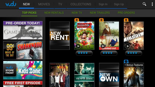 vudu for android