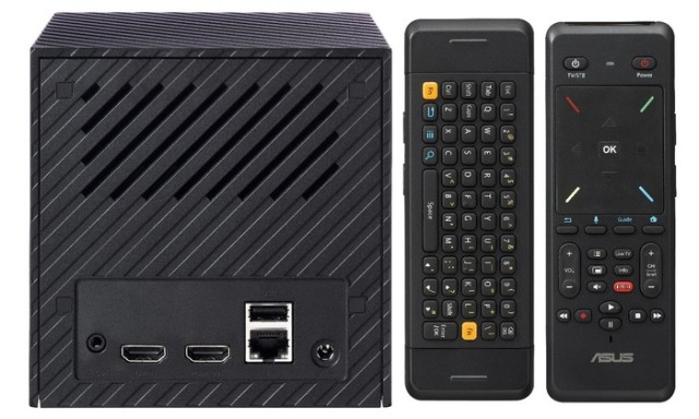 ASUS Cube ports and remote