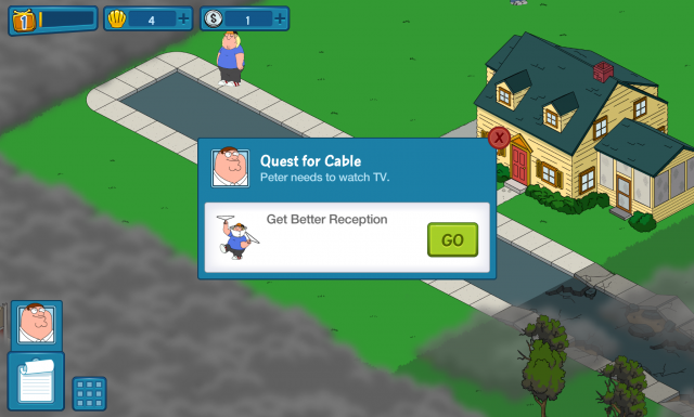 Family Guy Quest for Stuff game Android