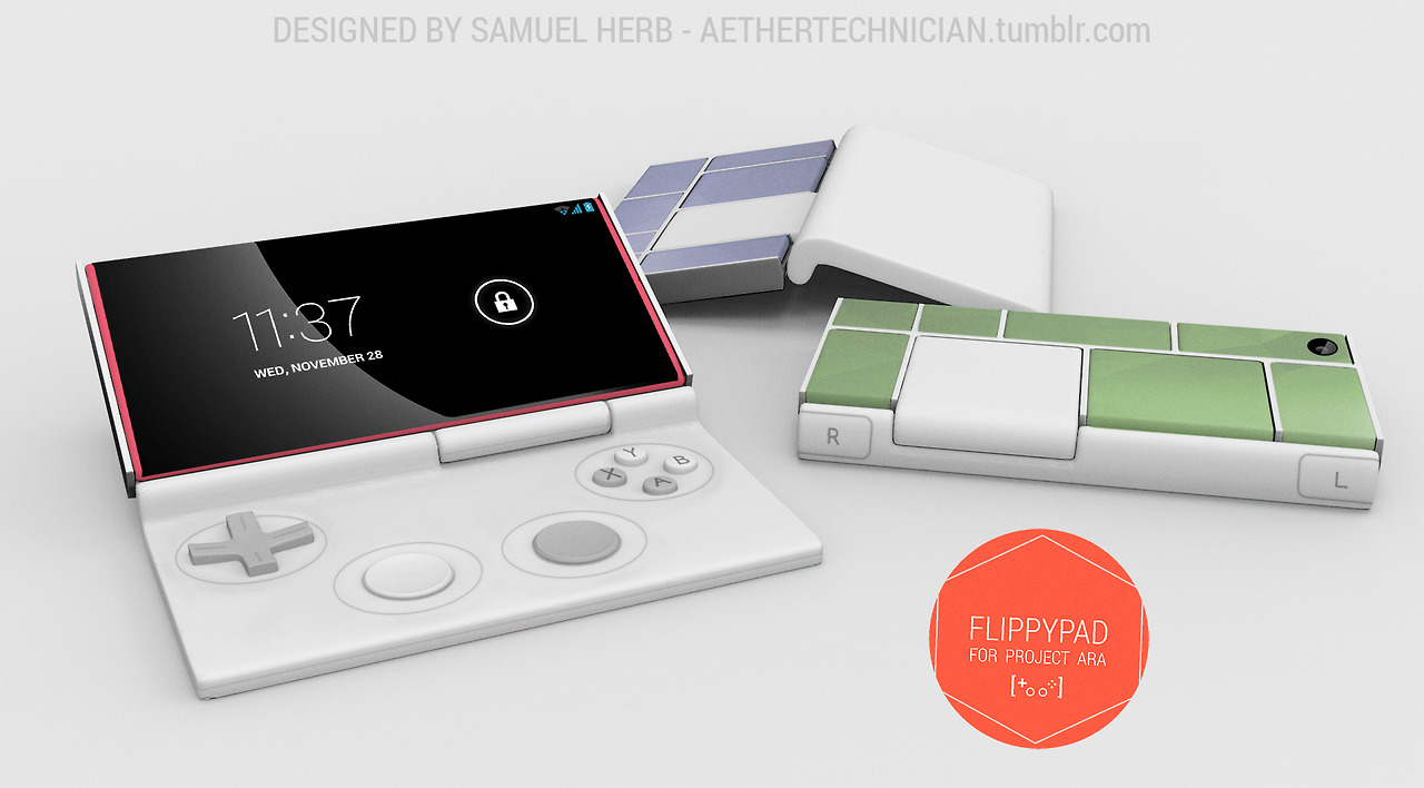 PROJECT ARA dual-analog controller concept looks amazing