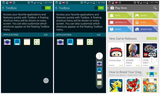 Galaxy S5 Toolbox tips