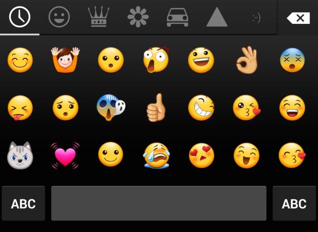 Galaxy S5 emoji