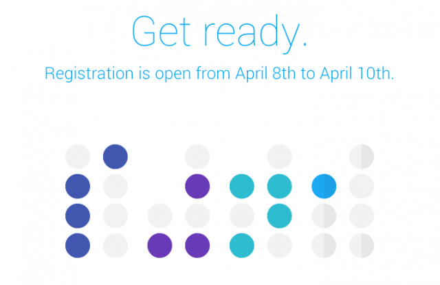 Google IO 2014 registration