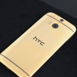 HTC One M8 gold plated