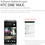 HTC One Max Verizon Wireless Android 4.4.2 KitKat