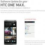 HTC One Max Verizon Wireless Android 4.4.2 KitKat