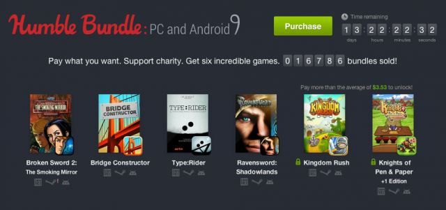 Humble Bundle PC Android 9
